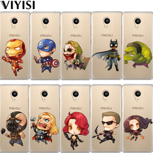 VIYISI For Meizu U20 10 M6 5 Note M5S 5C M3s 3Note Pro6 Q Version Manpower Hero Soft TPU Phone Case Shell Coque Cover