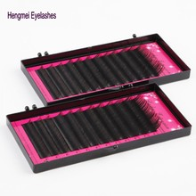 DHL/UPS/EMS shipping hot selling 10cases per lot Free silk eyelash extensions