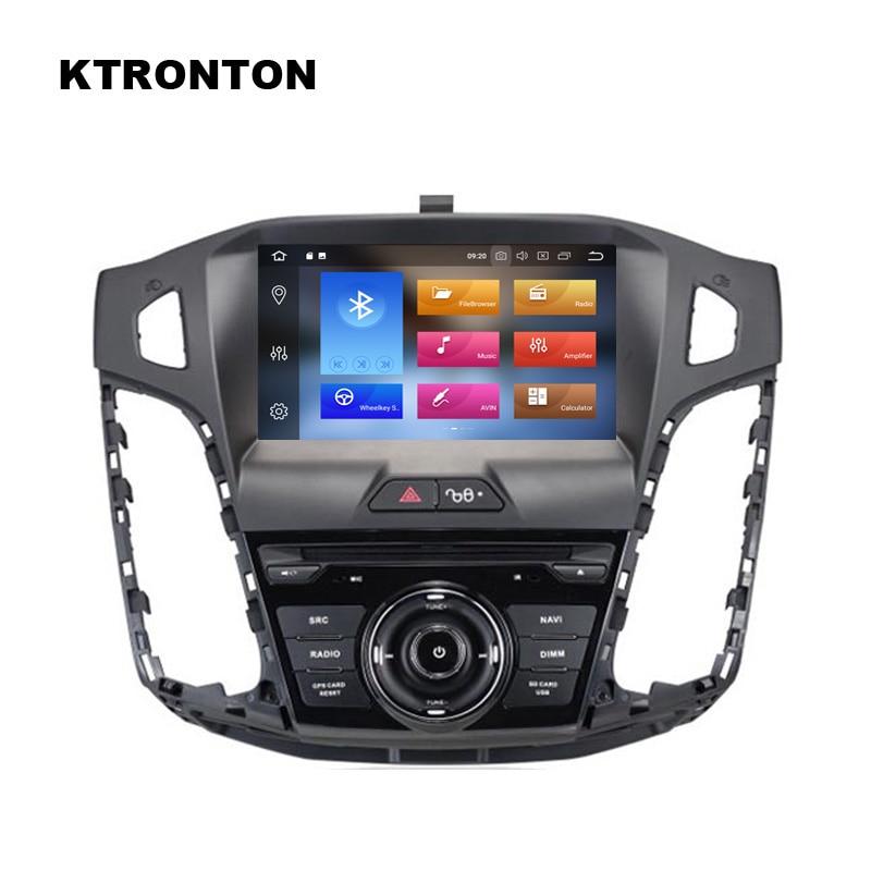 La curent ! Android 8.0 Car DVD Player pentru Ford Focus 3 2012-2014 - Electronică Auto