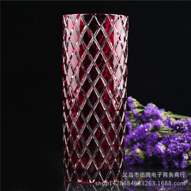 The New Creative Football Cylinder Glass Vases Wholesale Glassware