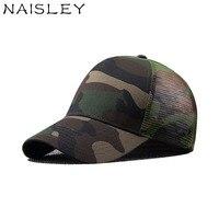 NAISLEY Summer Cap Baseball Cap Snapback Hat Wash Cap For Men Women Net Yarn Fashion Trend