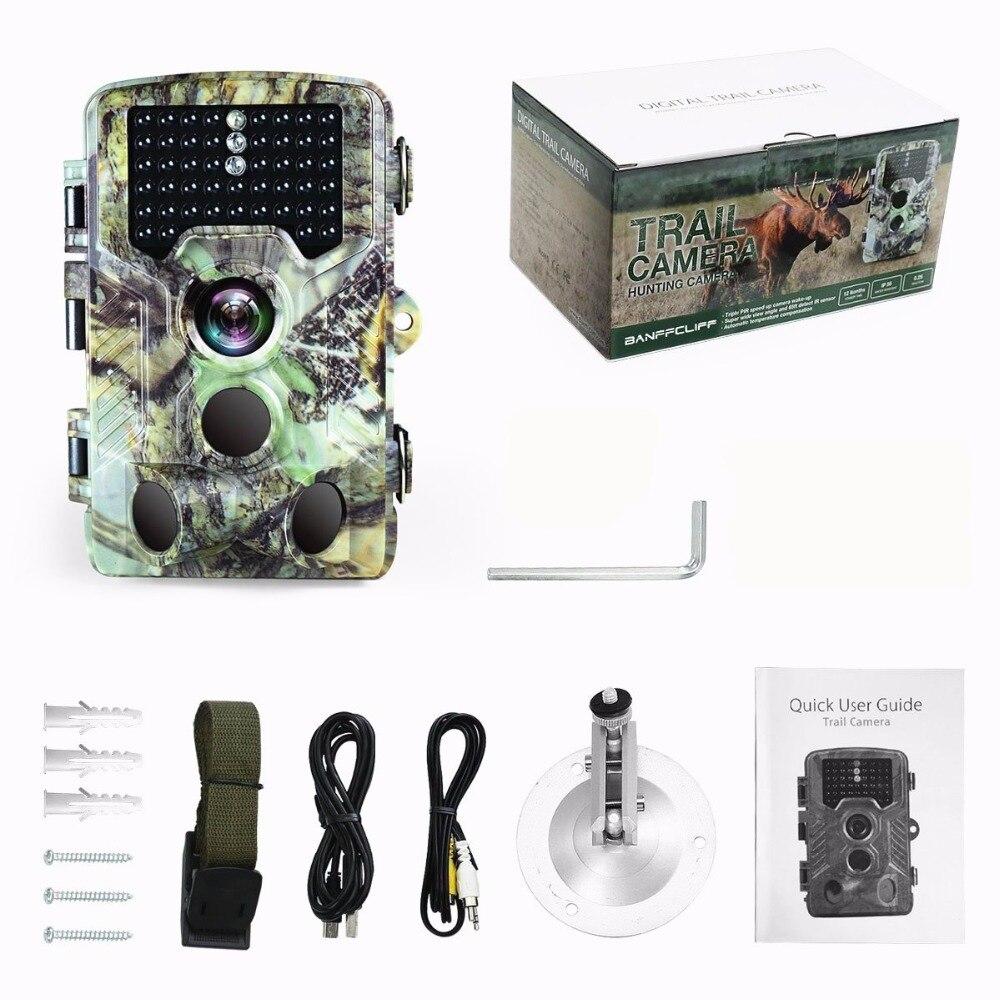 16MP Night vision 2.4LCD Hunting Wild Camera H881 Photo Trap 1080P IP56 Waterproof Infrared Trail camera 5