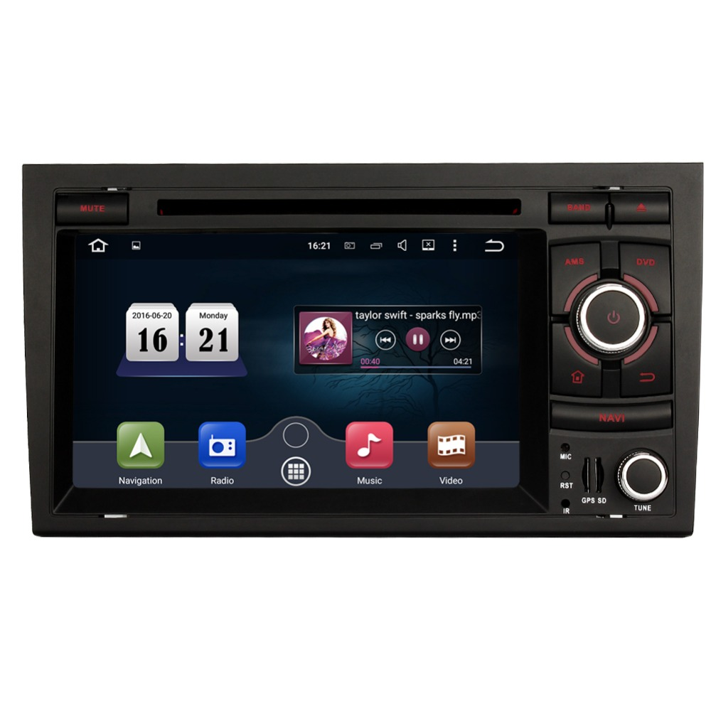 Android 5 1 car stereo radio for audi a4 2003 2008 for Mueble 2 din audi a4 b7