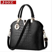2016 Added Fashion Handbags Crocodile Pattern Shell Bag Ms Portable Shoulder Messenger Bag