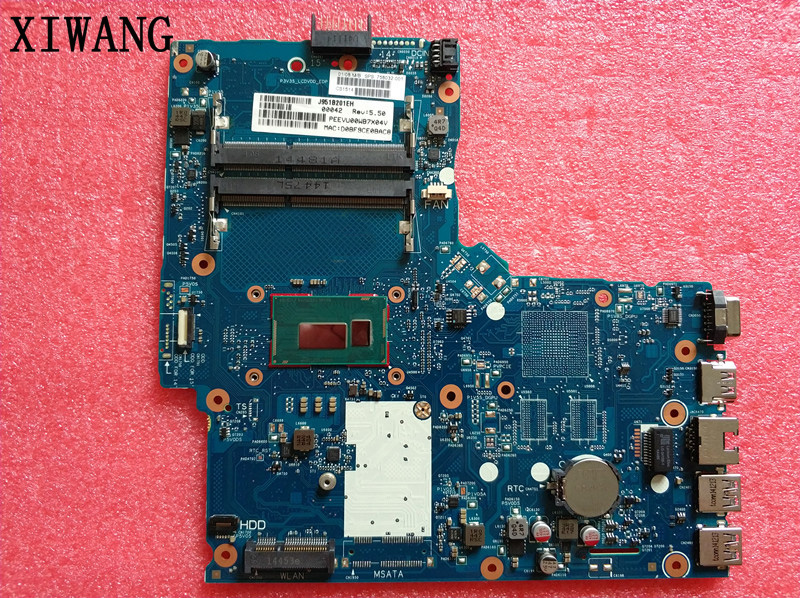 цена на 758032-001 758032-501 free shipping For HP ProBook 350-G1 350 G2 notebook motherboard 2957U CPU 6050A2608301 100% test good