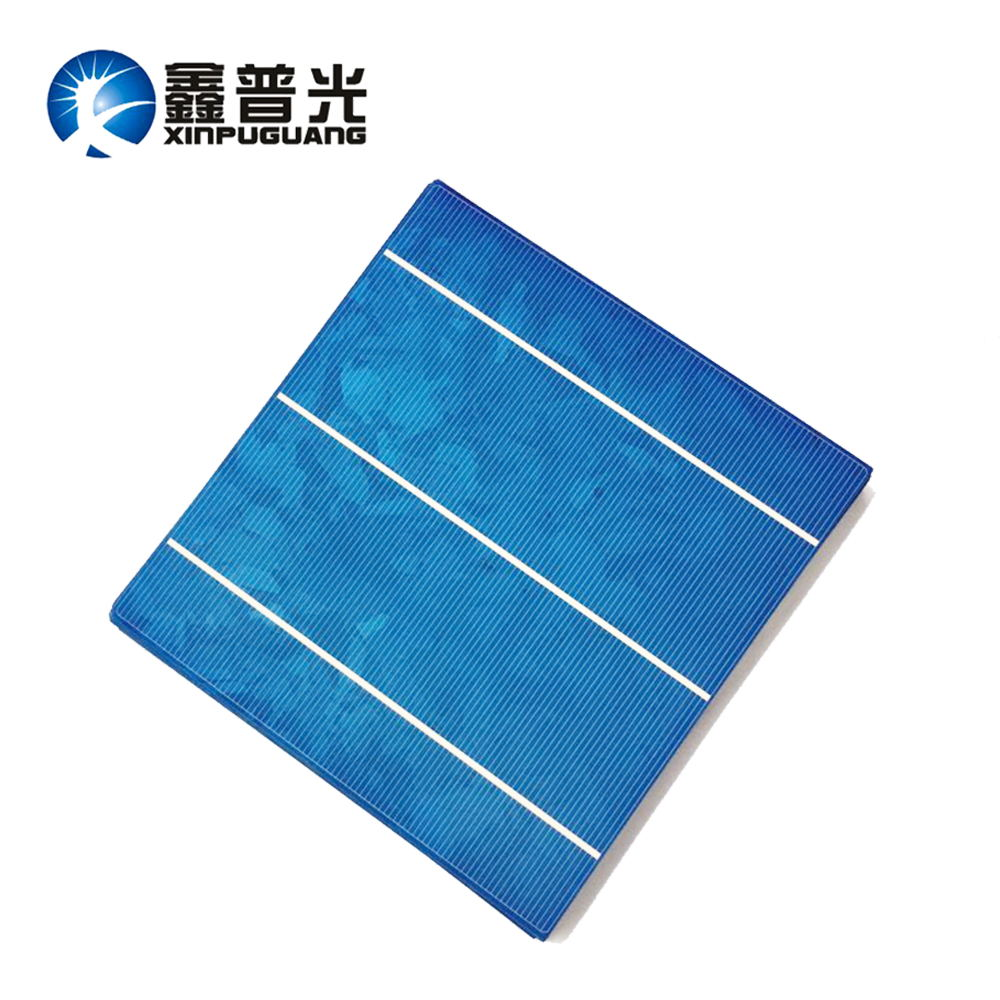 XINPUGUANG 100pcs 4.2W 0.5v solar cell Polysilicon silicon 156*150MM PV module cells Photovoltaic DIY kit solar panel