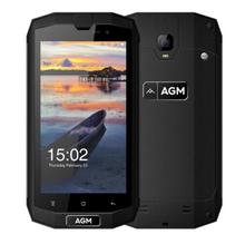 "AGM A1Q 5.0 ""IP68 Водонепроницаемый противоударный прочный мобильный телефон Android 7.0 4 г FDD LTE dual sim 4 ГБ + 64 ГБ 4 ядра 13.0MP 4050 мАч"