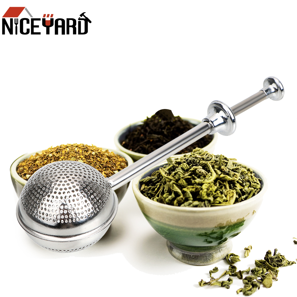 Stainless Steel Teapot Tea Strainer Ball Metal Tea Bag Reusable Adjustable Tea Infuser Filter Spice Tea Tool Accessories
