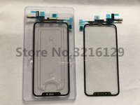 Front Glass Touch Panel for iPhone X 10 XS MAX Original Front Outer Glass Lens Cover Touch Screen Digitizer+TP With Flex Cable