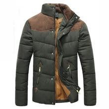 5e7f6316 2018 Лидер продаж мужская мода повседневное зимняя верхняя одежда пальто  удобная куртка два цвета плюс размеры