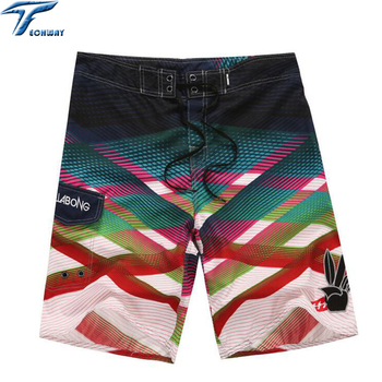 2019 Summer Men's Clothing Beach Shorts Travel Men's Beach Short Surf Bermuda Board Beach Print Quick Dry Boardshorts