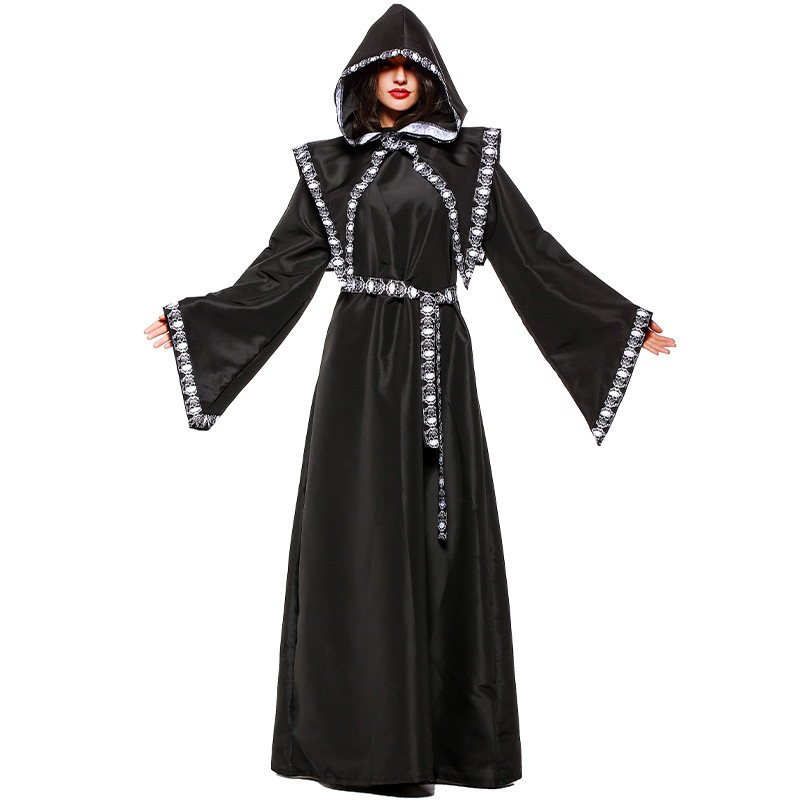 Women's Dark Witch Costume Adult Sorceress Witches Outfits