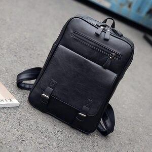 Image 4 - ファッション pu 男性女性トラベルノートパソコンのバックパック macbook air は pro の 11 12 13 15 網膜のラップトップハンドバッグレノボ hp スクールバッグ