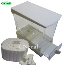 1 pc Dental Cotton Roll Dispenser & 50 pcs Drawer-type White