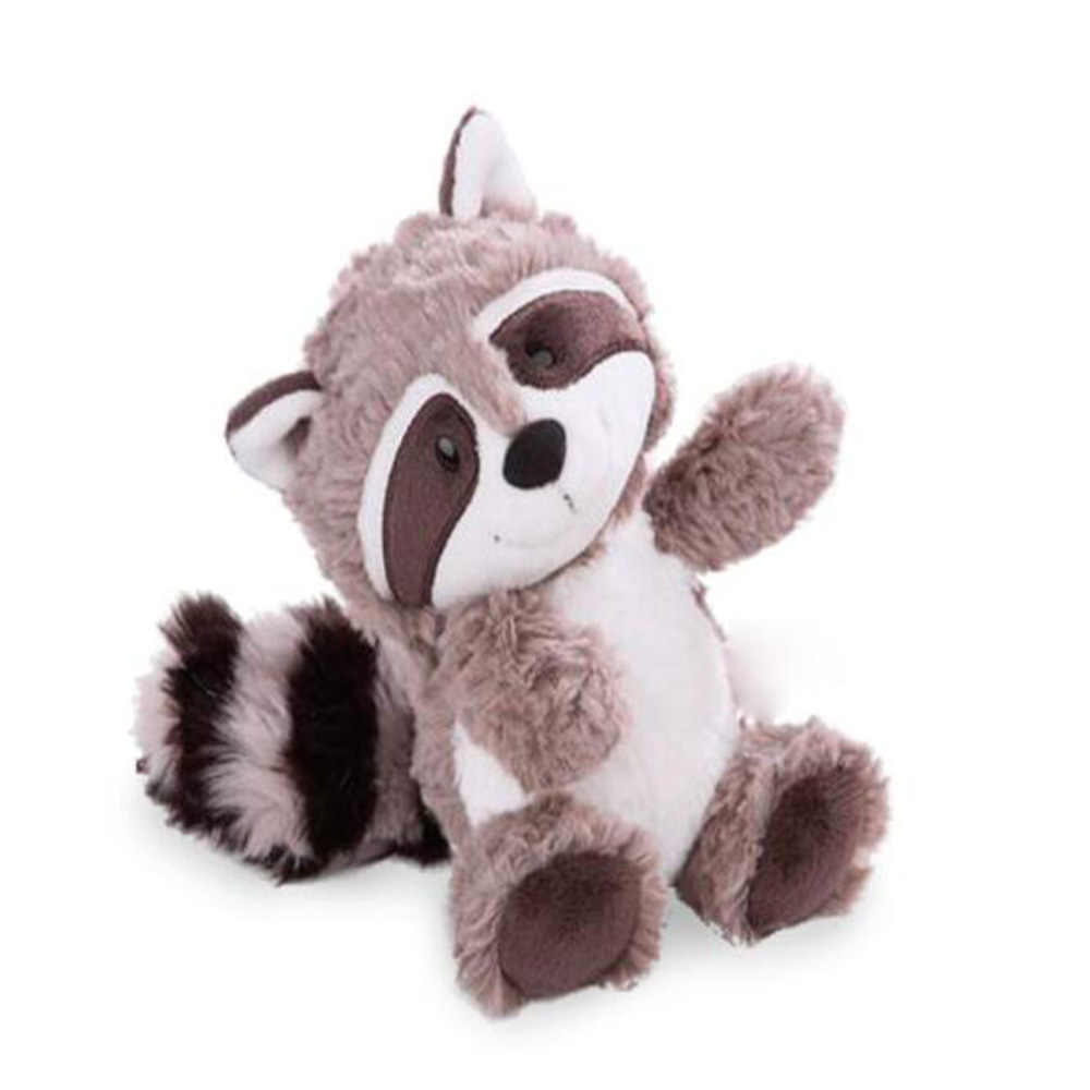 Высококачественная серая игрушка енот плюшевый мультфильм Животные медведь кукла милая мягкая подушка День рождения Рождественский подарок для детей