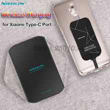 Nillkin Qi Wireless Charging for Xiaomi Mi 8 9 SE Lite Pro Fast Wireless Charger+Type C Receiver for Redmi Note 7 K20 Pro