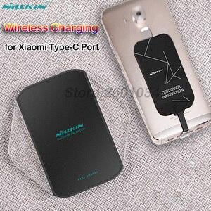 Image 1 - Nillkinチーワイヤレス充電xiaomi mi 8 9 se liteプロ高速ワイヤレス充電器 + タイプc受信機redmi注7 K20プロ