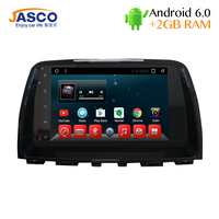 Jasco Car DVD Player GPS Navigation Android 6 0 For Mazda 6 Atenza 2013 2014 2015