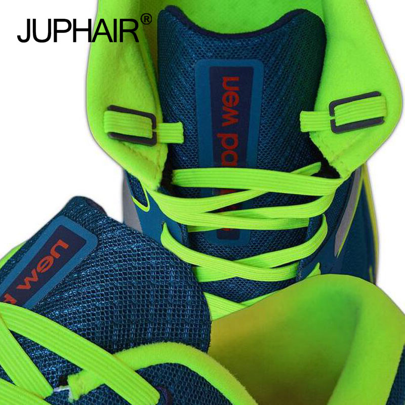 JUP 8 Sets / 32 Pcs No Tie Shoelaces Flat Anchor Plastic Lazy Shoes Laces Anchors Fit All Shoelace With Convenient Laces Buckle 45 neon orange 5 16 flat shoelace for all basketball shoes