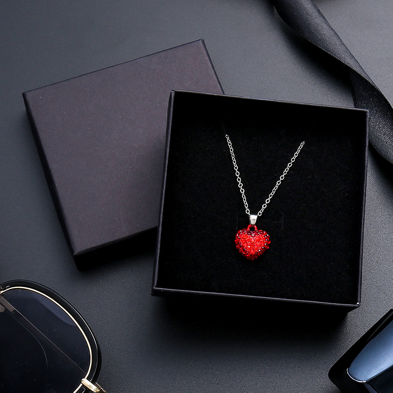 24Pcs/lot Black Kraft Paper Box Packaging Present Ring Earring  Bracelet Protection Gift Box 9cmx9cm Can Custom Your LogoJewelry  Packaging