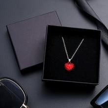 24Pcs/lot Black Kraft Paper Box Packaging Present Ring Earring Bracelet Protection Gift Box 9cmx9cm Can Custom Your Logo