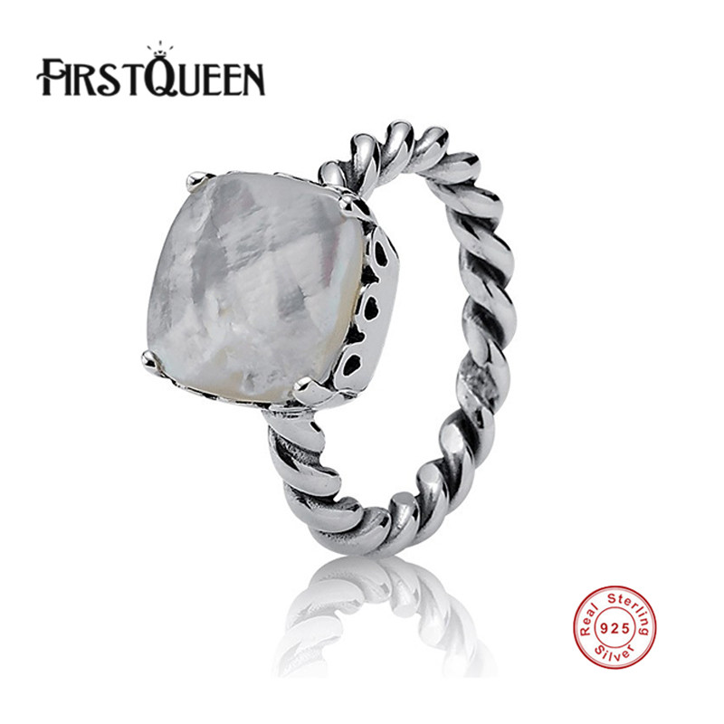 FirstQueen New 100% S925 Sterling Silver Elegant Sincerity Ts
