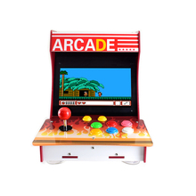 Arcade 101 1P אבזר חבילה ארקייד מכונת בניין ערכת מבוסס על פטל Pi 10.1 אינץ IPS מסך + 17 אביזרים