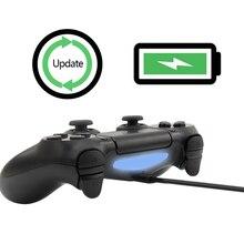 1 m Cable Micro USB negro 3ft para PS4 Cable de carga del controlador para Playstation 4 carga para Samsung Xiaomi Android Teléfono Inteligente