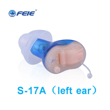 ФОТО ear equipment hearing aid listening device sound amplifier hear tools instrument mini in-ear whistling prevent s-17a