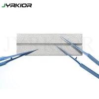 Jyrkior dispositivo de reparo nitidez pinças corrector estação cabeça ferro lâmina reparação moagem mais afiada ferramentas ferro solda Conjuntos ferramenta manual     -