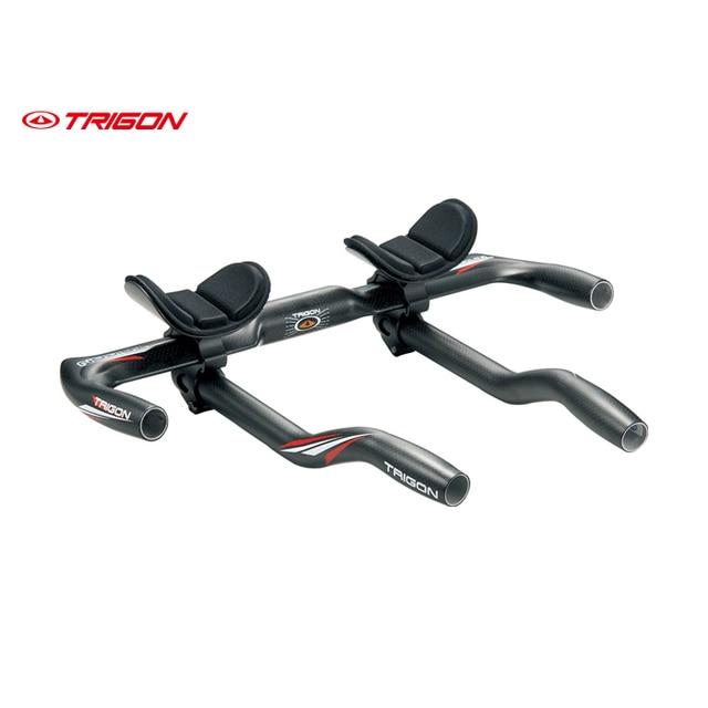 Cheap TRIGON  AB111  full carbon fiber ultra light Time Trial Tri Triathlon Handlebar TT bars road bike bicycle aero bars handlebar