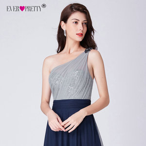 Image 5 - שמלה לנשף ארוך 2020 אלגנטי אי פעם די EP07404 סקסי ללא שרוולים ללא משענת אונליין טול Robe De Soiree חיל הים כחול מפלגה שמלה