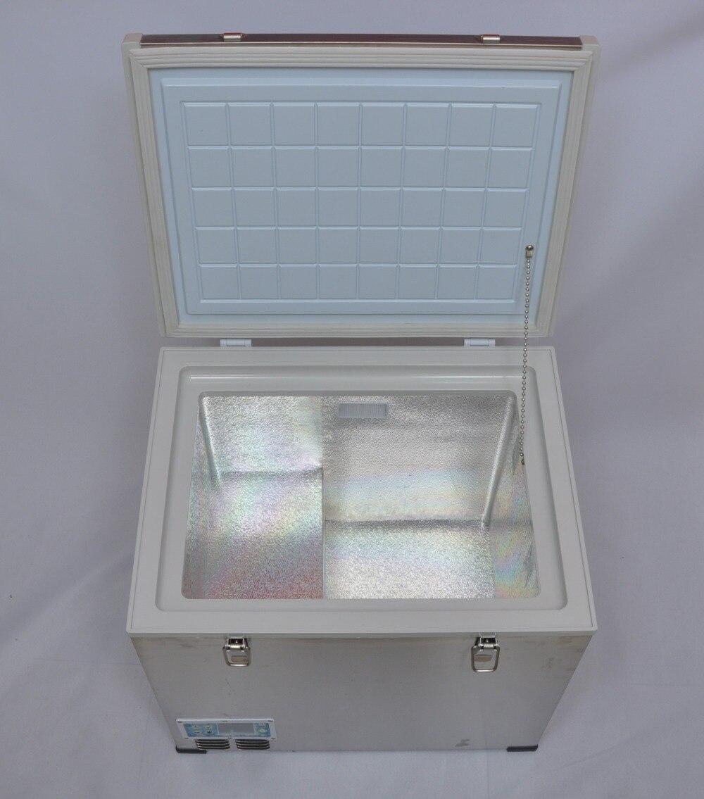 45L AC/DC компрессор автомобильный холодильник, Singel шкаф с одной контроллер температуры и металлический корпус, Бытовой Холодильник