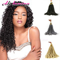 "Cheap Freetress Deep Twist Crochet Braids Curly Latch Hook 14"" Synthetic Hair Weave Water Wave Crotchet Braids Hair Extensions"