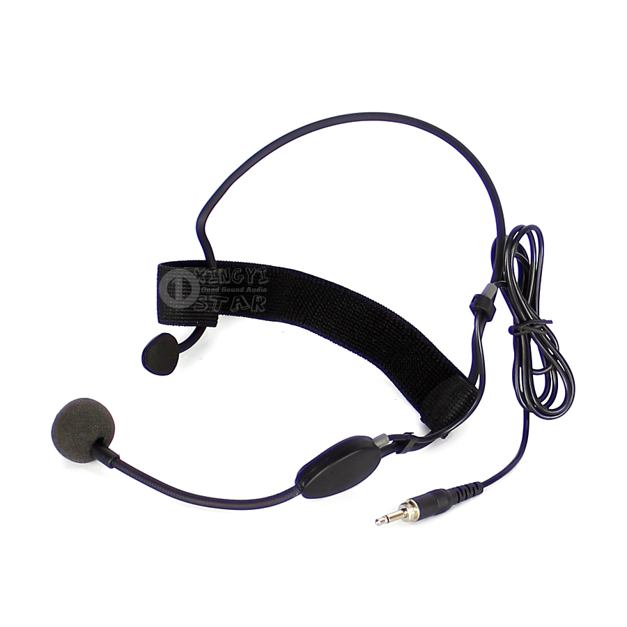 Me3 Wired Headworn Headset Microphone 3.5mm Jack Male Screw Connector Condenser Mic For UHF Wireless System Bodybelt Transmitter