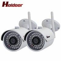 2 шт. ip камеры Wi Fi 1080 P HD Открытый водонепроницаемый CCTV безопасности беспроводной Cam системы видеонаблюдения домашнее видео Wi Fi ip камера p2P