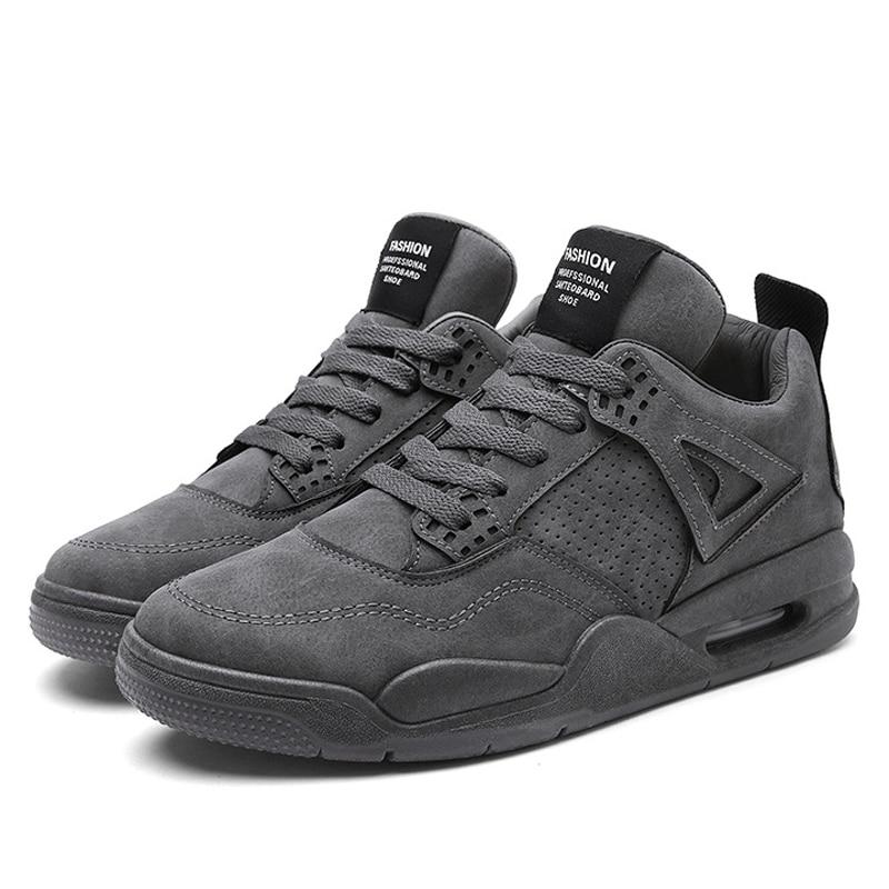 2019 Frühling Männer Fashion Sneakers Flache Schuhe Männer Casual Schuhe Lace Up Klassische Solide Herren Vulkanisieren Schuhe Größe 39 -45