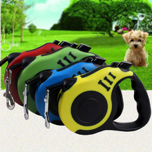 New Arrival Limit discounts Pet Leash Collar Set Waterproof Handle Dog Leash Rope Shock Absorbing Dog Leash Leash Running  tool
