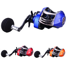 купить 13+1BB Left Right Hand Baitcasting Fishing Reel 6.3:1 Bait Casting Fishing Wheel With Magnetic Brake Carp Carretilha Pesca дешево