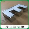 Fábrica Ao Ar Livre branco Acrílico LEVOU letras de canal de Sinalização 3D LED light up letras sinal