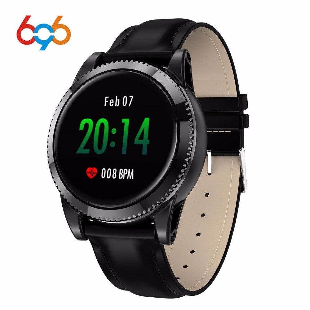 696 M11 Smart Uhr 1,3 Runde Farbe Bildschirm Multi-zifferblatt Musik Control Heart Rate Monitor Smartwatch Männer Frauen