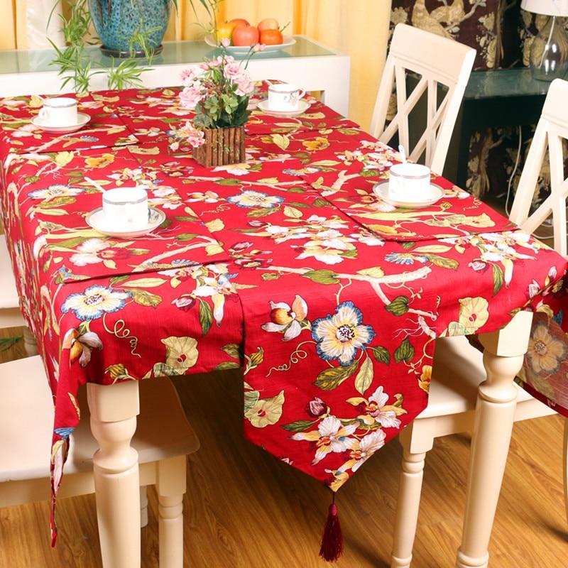 Kinietiškas stilius Aukštos kokybės arbatos vakarietiški - Namų tekstilė - Nuotrauka 3