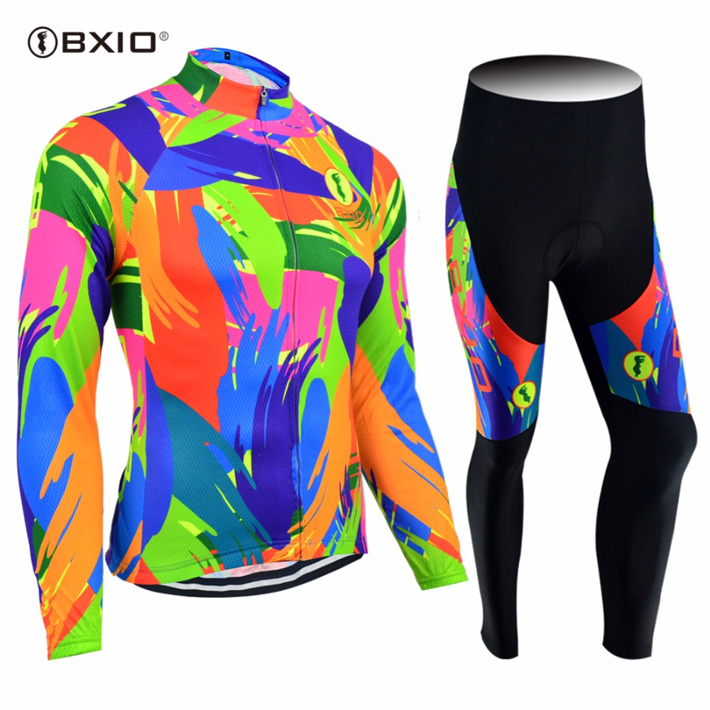 New Arrival BXIO Mujer Ropa Ciclismo Pro Team Bike Clothes Multi Colors Bicycle Clothing Cycling Jerseys