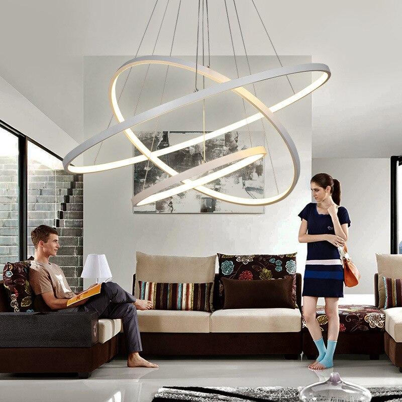 Led Wohnzimmer Deckenleuchte Kreative Moderne Minimalistische Büro Lampe  Kunst Aluminium Rund Schlafzimmer Restaurant Lampe In Led Wohnzimmer  Deckenleuchte ...