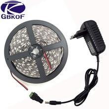 1Pack 5M Single Color White/ Warm white 300 LEDs SMD 5050 LED