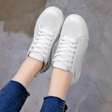White Platform Sneakers Casual Shoes Women  Wedges Footwear Basket Femme trainers women