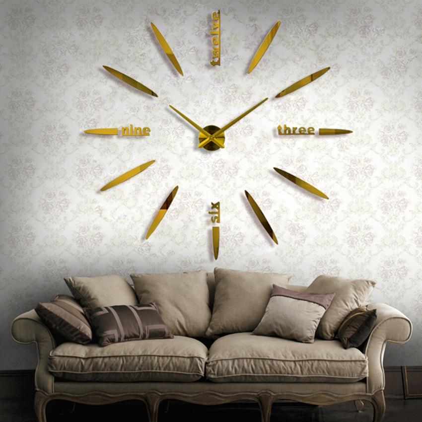 Часы дерево металл зеркало