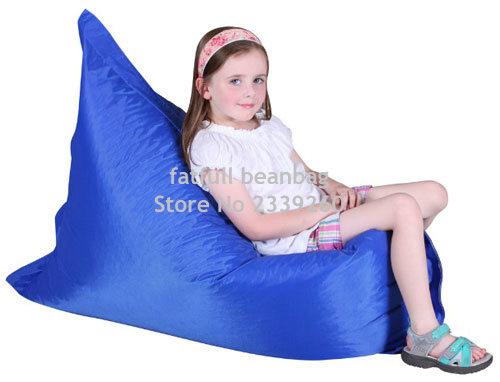couverture seulement pas de charge big joe fonce bleu canape bean bag chaise moderne fonctionnelle enfants meubles a la maison dans sac de haricots canapes