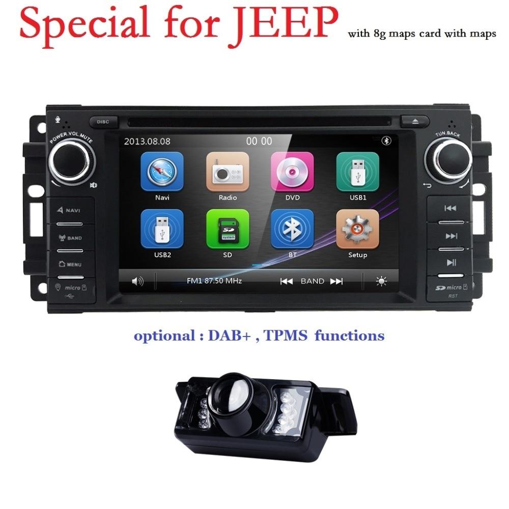 Monitor de coche Reproductor de DVD para Wrangler Compass Grand - Electrónica del Automóvil