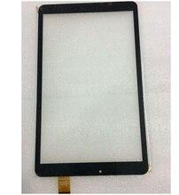 """Nueva pantalla de panel táctil digitalizador Para 10.1 """"Tesla s41103G Impulse 10.1 3G tablet pc de reemplazo del sensor de cristal Libre gratis"""